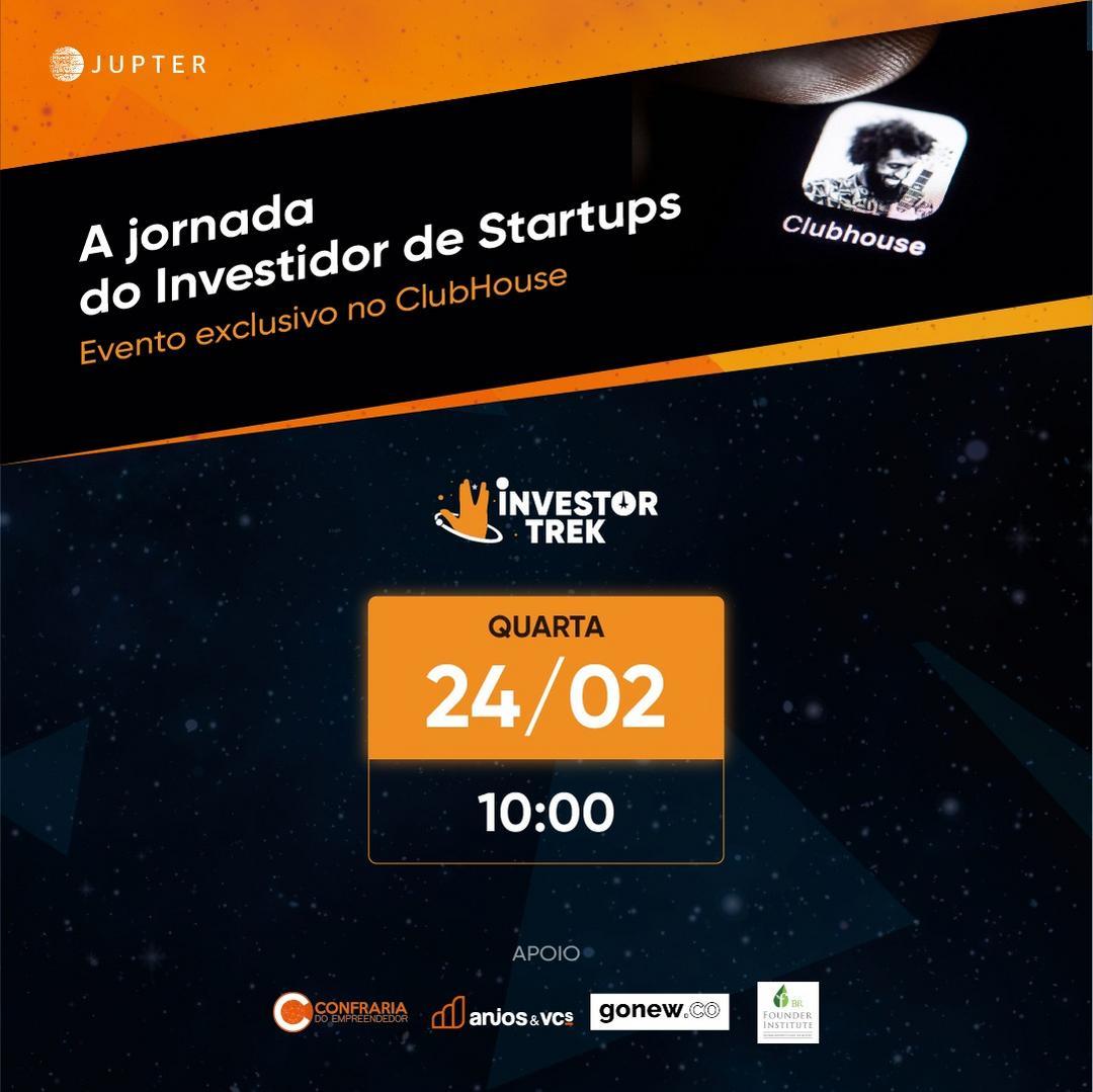 A jornada do investidor de startups no ClubHouse