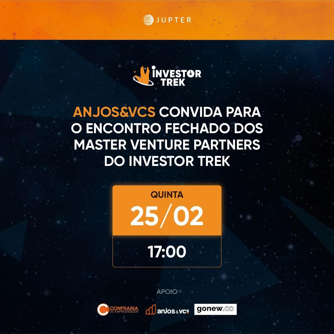 Por que você vai investir o seu tempo no Investor Trek? Os Master Venture Partners respondem!